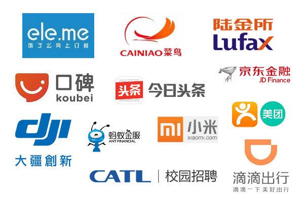 2017年中国ユニコーン企業トップ12、アリババ系4社、アント・フィナンシャルは断トツ
